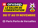 Save the date : le salon de l'orientation Onisep a lieu du 17 au 19 novembre