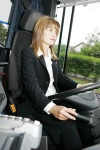 conductrice de bus scolaire