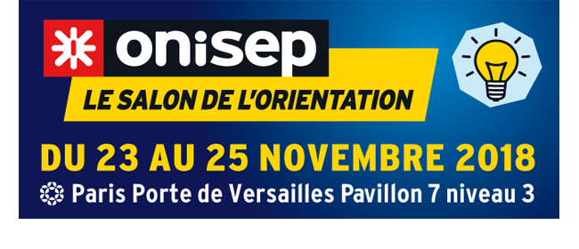 Save the date : le salon de l'orientation Onisep a lieu du 23 au 25 novembre
