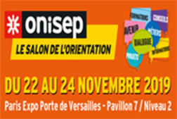 Save the date : le salon de l'orientation Onisep a lieu du 22 au 24 novembre