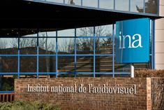 Entrée de l'institut national de l'audiovisuel