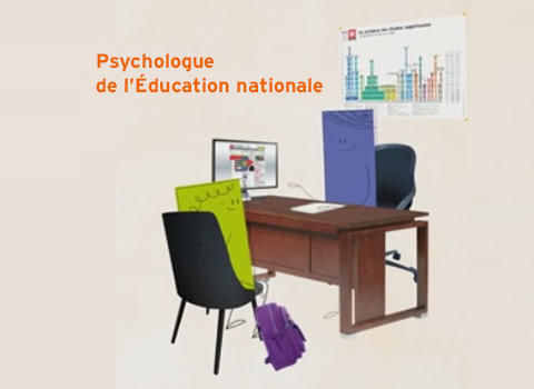 Le psychologue de l'Éducation nationale