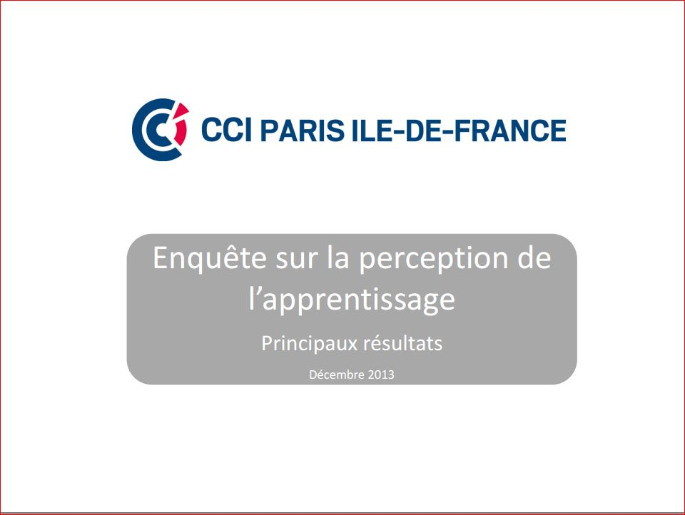 la Perception De L'Apprentissage