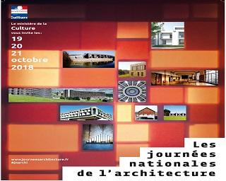 JOURNÉES NATIONALES DE L'ARCHITECTURE 2018
