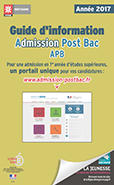 Couverture Guide Admission Post Bac 2017