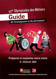 Guide Olympiades des métiers 2017