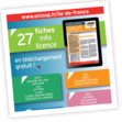 Fiches Info licence
