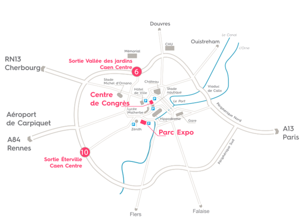 Carte Caen Event