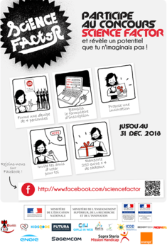 Science Factor 2018-2019 Affiche